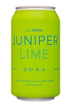 Dona Juniper Lime Spice Soda