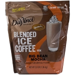 DAVINCI GOURMET JET BLENDED ICE COFFEE BIG BEAN MOCHA 3 LB