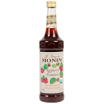 MONIN ORGANIC RASPBERRY 750 ML