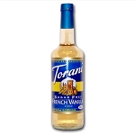 TORANI SUGAR FREE FRENCH VANILLA 750 ML