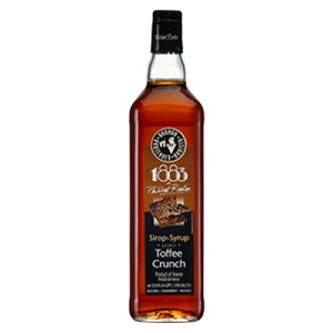1883 TOFFEE CRUNCH SYRUP 1 LITER