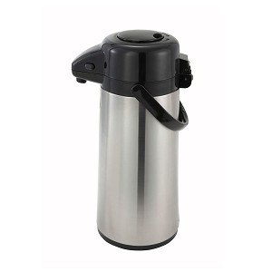 AIRPOT BLACK & STAINLESS 2.5 LITER