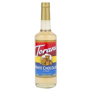 TORANI CHOCOLATE BIANCO (WHITE) 750 ML