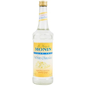 MONIN WHITE CHOCOLATE SUGAR FREE 750ML