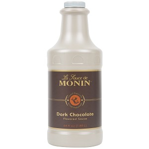 MONIN 64OZ DARK CHOCOLATE SAUCE