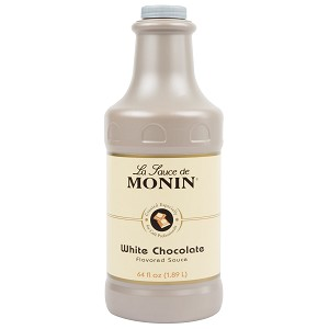 MONIN 64OZ WHITE CHOCOLATE SAUCE