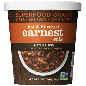 EARNEST EATS HOT-FIT MAYAN BLEND 12 - 2.35 OZ OATMEAL