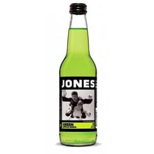 JONES SODA GREEN APPLE 12OZ