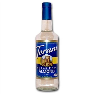 TORANI SUGAR FREE ALMOND 750 ML