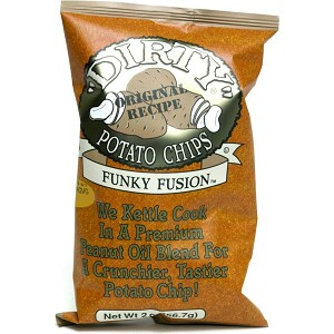 DIRTY CHIPS FUNKY FUSION POTATO CHIPS 25/2OZ
