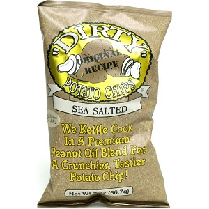 DIRTY CHIPS SEA SALTED POTATO CHIPS 25/2OZ