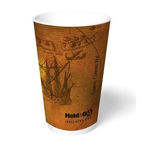 HOLD N GO INSULATED DESIGN 12OZ 600/CS