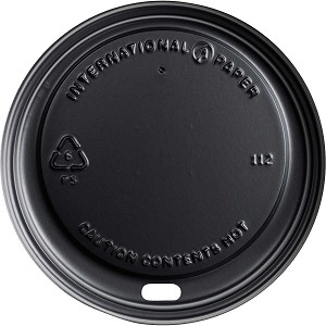 INTERNATIONAL PAPER SOHO BLACK LIDS 12,16,20 OZ 1200/CS