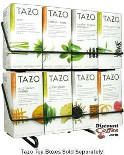 TAZO TEA RACK