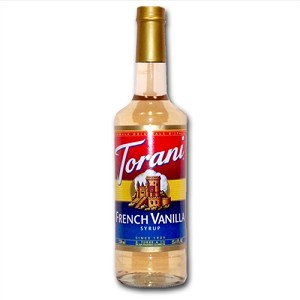 TORANI FRENCH VANILLA 750 ML