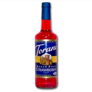 TORANI SUGAR FREE STRAWBERRY 750 ML